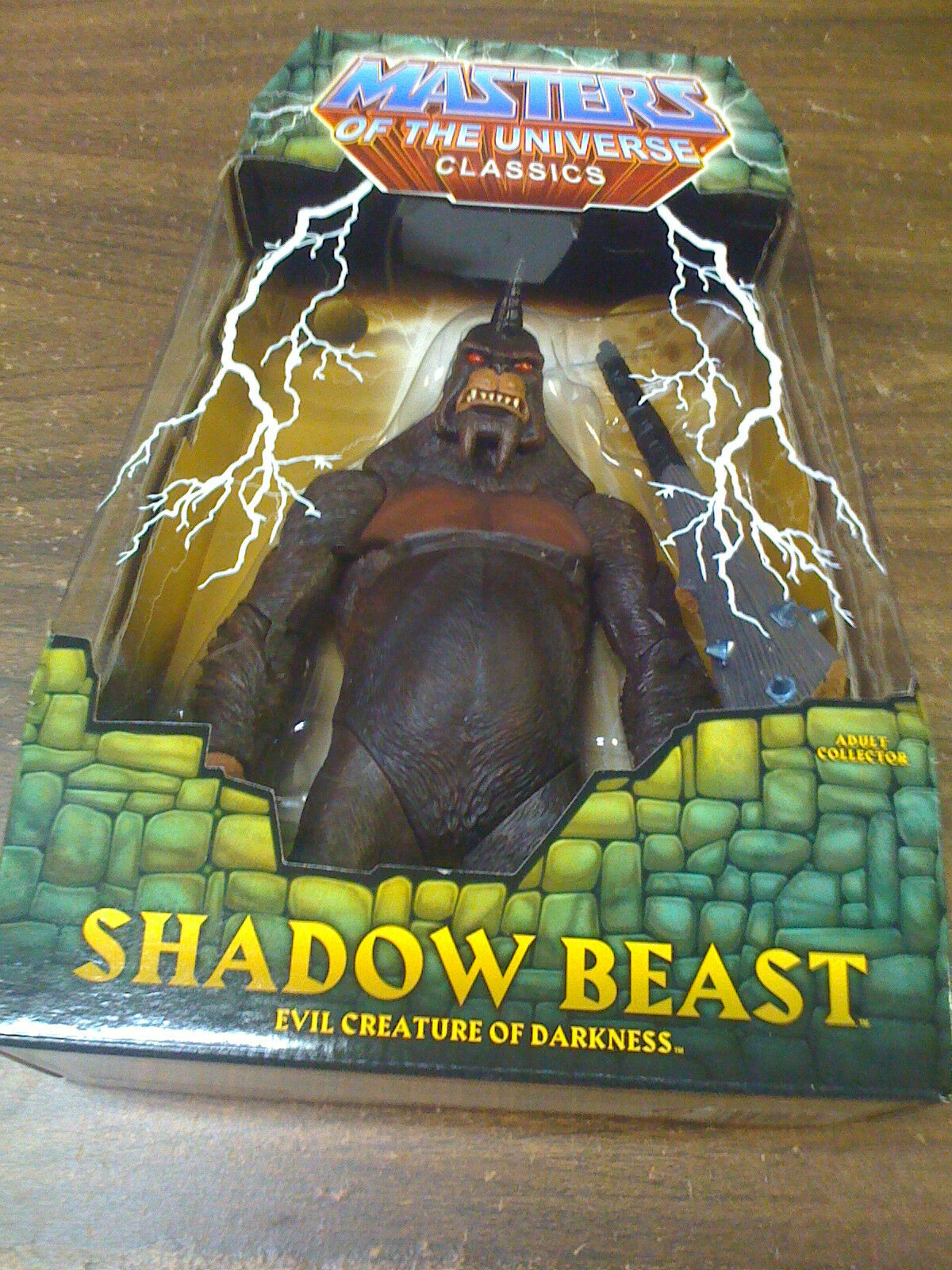 MOTU classeics Shadow Beast cifra nuovo Ship Worldwide