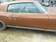 1972 monte carlo passenger side door galss