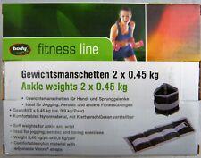 Gewichtsmanschetten 2 x 1,5 Kg Mit Klettverschluss.Gewichtsgranulat Ju-Sports