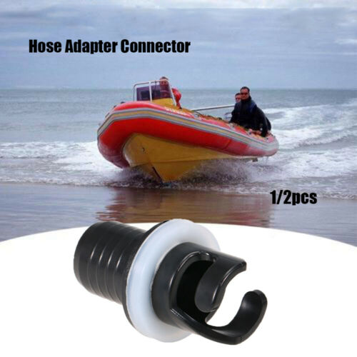 Air Valve Caps Screw Hose Adapter Connector For Inflatable Boat Fishing Kayak