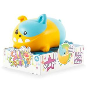 Silly-Squeaks-Series-1-Slurps-Musical-Pet-Toy-Will-Need-New-Batteries