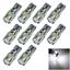 10x White RV T10 W5W Malibu Landscape Light Wedge Lamp Canbus Error Free 6 5630