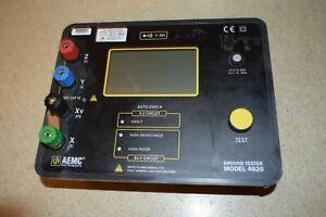 4620 AEMC Earth Ground Tester,128 Hz,42VAC