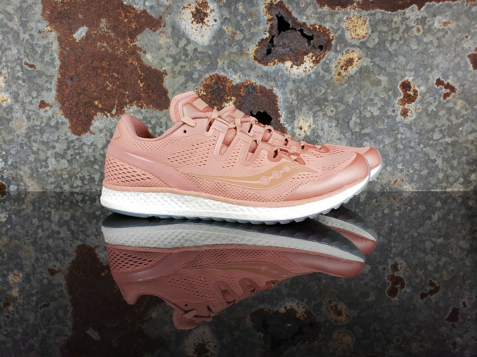 Saucony Freedom ISO Running Training  Pink Shoes S20355-52 Uomo Size 9.5