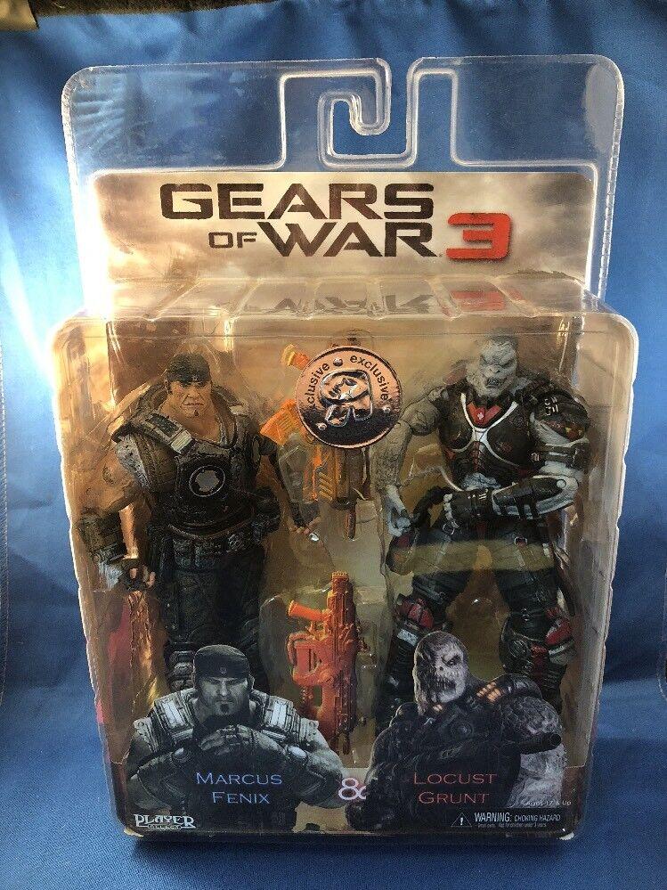 Neca gears of war 3 marcus fenix 8 heuschrecke grunt tru toys r us exklusiv