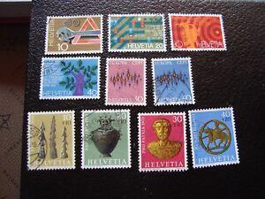 Switzerland-Stamp-Yvert-and-Tellier-N-895-A-904-Obl-A2-Stamp-Switzerland-Y