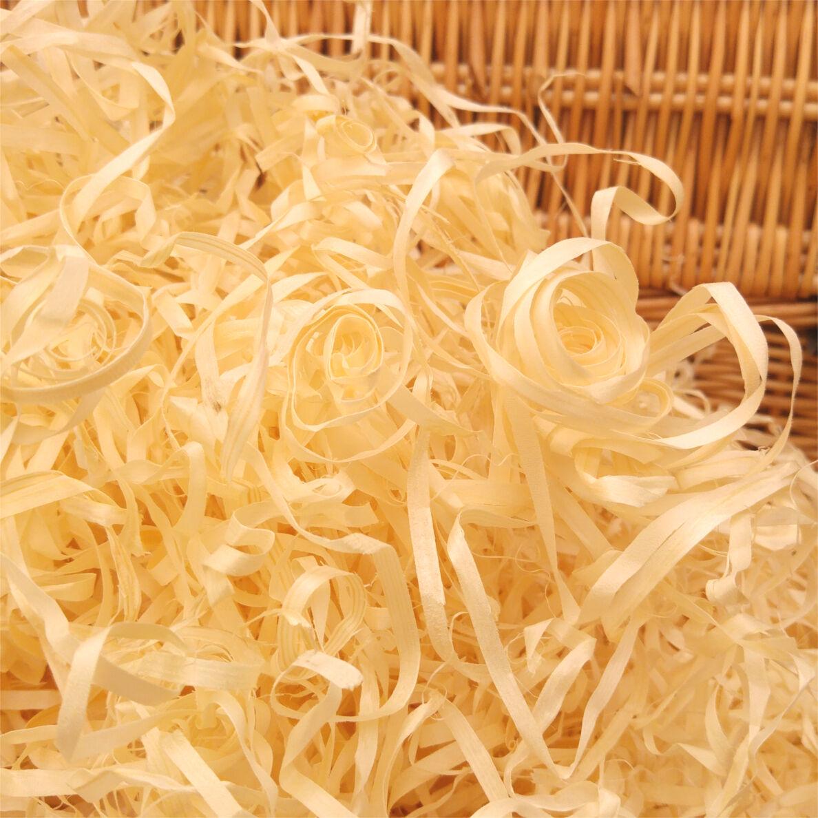 1 Kg Secado Lana de madera Embalaje Relleno Cesta Cesta de Regalo para Relleno Juguetes