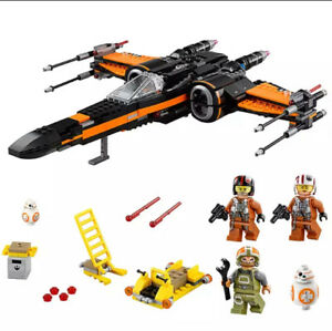 Star-Wars-Vaisseau-XWing-Fighter-Star-POE-Star-Wars-Briques-Enfant-Adulte-Collec