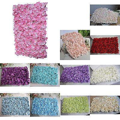 Noble Carpet type Hydrangea DIY wedding Setting wall decor Road led flower X2X6