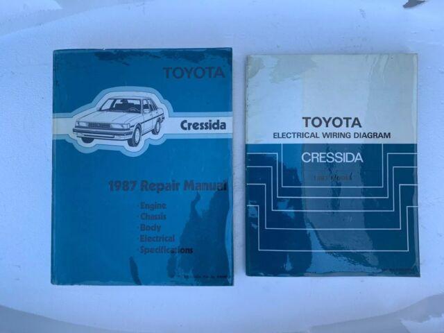1987 Toyota Cressida Service Repair Manual And Electrical