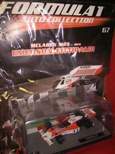 1/43 McLaren M23 Fittipaldi #5 1974 + Brochure N 67 Formula 1 Auto Collection