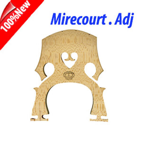 Aubert Cello Bridge   Mirecourt   --Adjustable 3 4