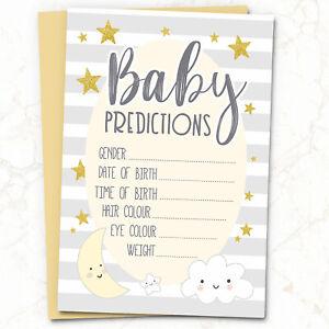 10 X Baby Shower Games Prédiction & Conseils Cartes ~ Mots De Sagesse #037-afficher Le Titre D'origine Avoir Une Longue Position Historique
