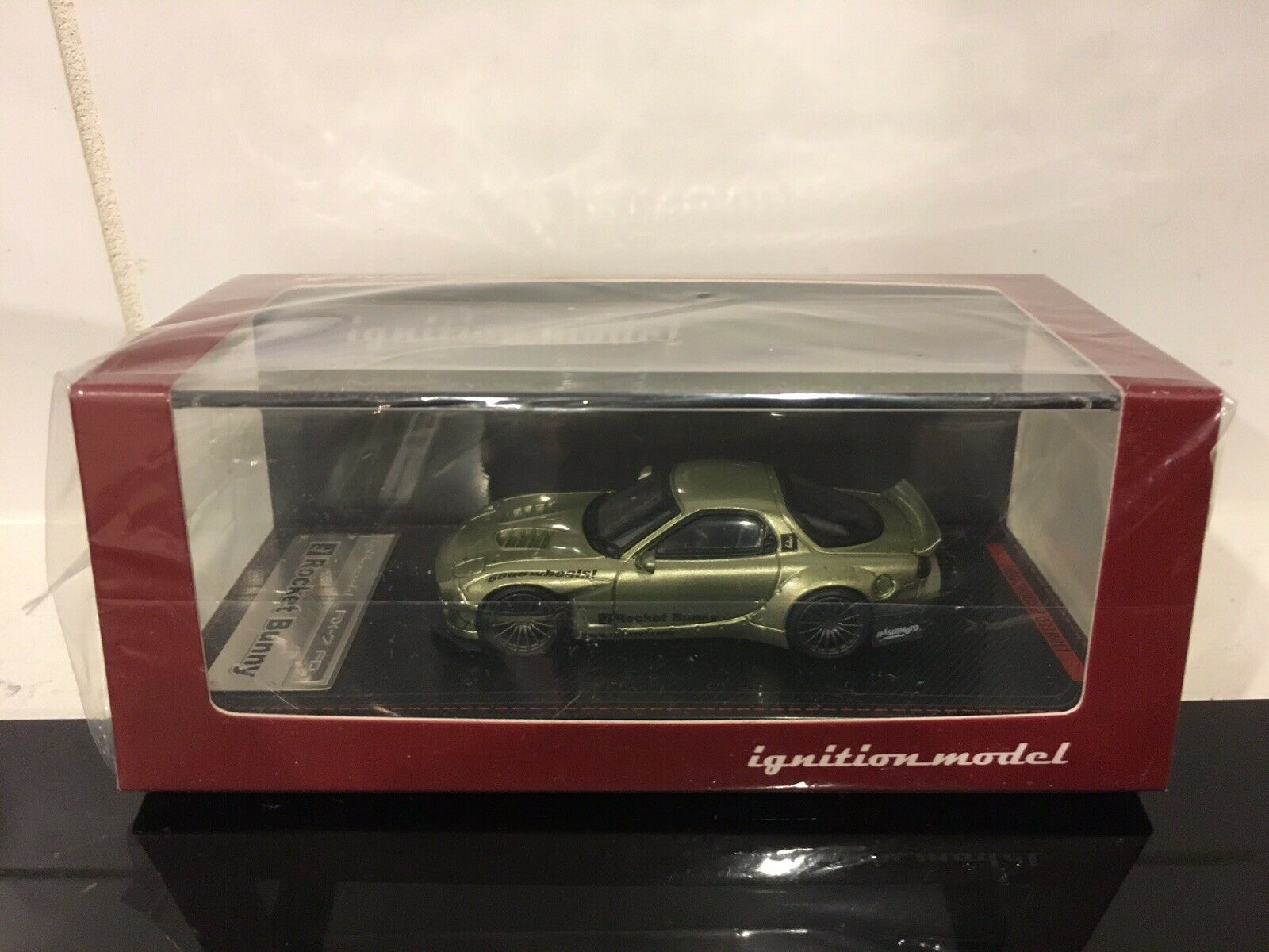 1 64 Ignition Model PANDEM Mazda RX7 RX-7 FD FD3S Japan Exclusive Green color