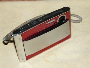 Sony Cyber-shot DSC-T5 5.1 MP - Digital Camara - Plateado / Rojo