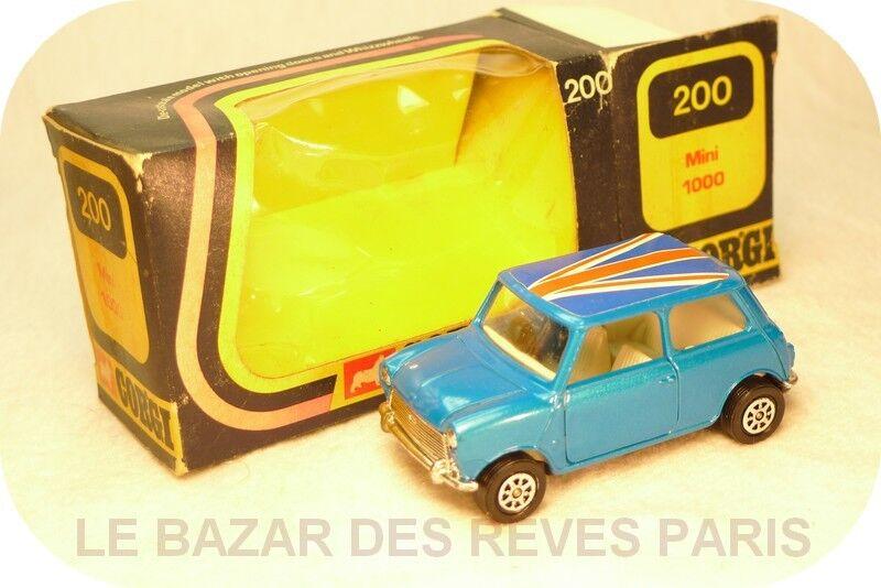 CORGI TOYS GB. MINI 1000 + boite   REF  200 (1975)  jusqu'à 60% de réduction