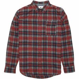 Vissla-Central-Costa-Franela-Camisa-Para-Hombre-Camisa-a-Cuadros-RRP-60