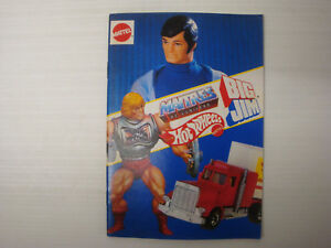 Catalogo-Juguetes-Mattel-1980-039-s-Maestros-Universo-Big-Jim-Hot-Wheels-Club-Motu