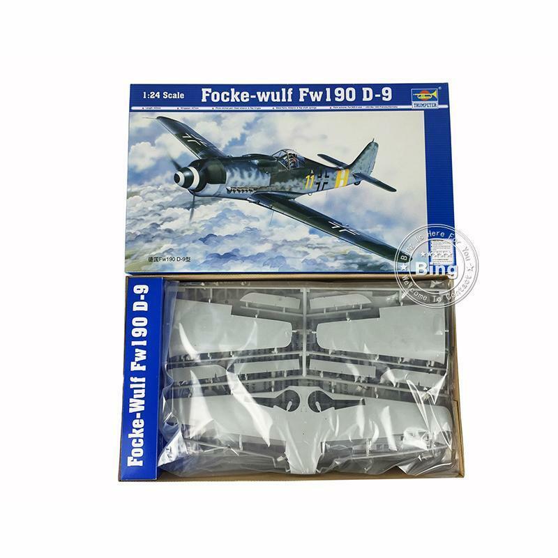 autentico en linea 02411 aviones jet alemán Focke Trumpeter De Plástico-Wulf FW190 FW190 FW190 D-9 Modelo 1 24  ventas calientes
