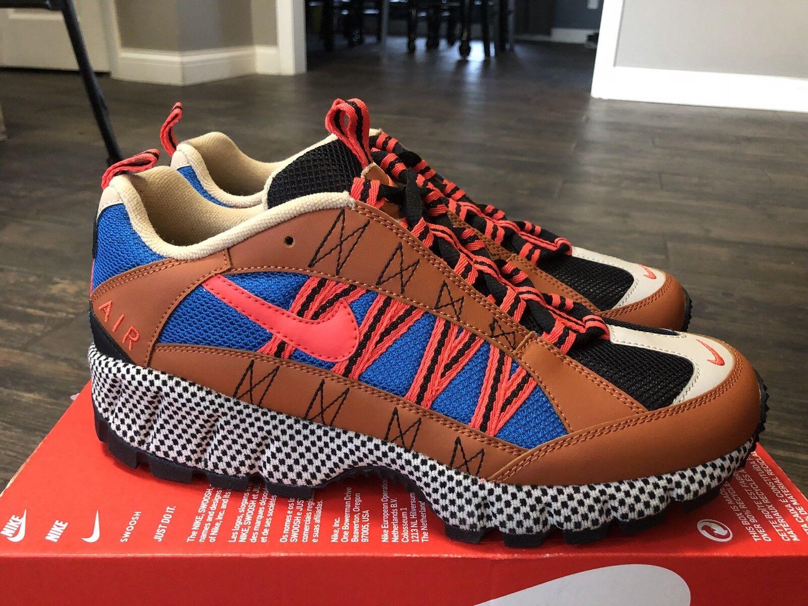 Men's Nike Humara 17 QS  Outdoors   Size-10 Orange Blue Tan Grey (AO3297 200)