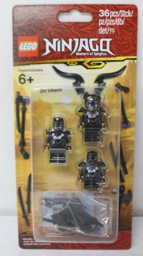 LEGO 853866 Ninjago Legacy Oni Villains Minifigure Accessory Set 36pcs New