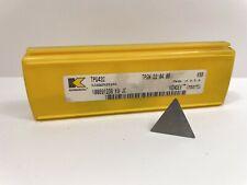 Kennametal Tpg432 Tpgn220408 New Carbide Inserts Grade K68 3pcs