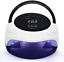72W-LED-UV-Nail-Lamp-Dual-Mode-Dryer-for-Gel-CND-Shellac-with-Handle-and-Removab miniatuur 1