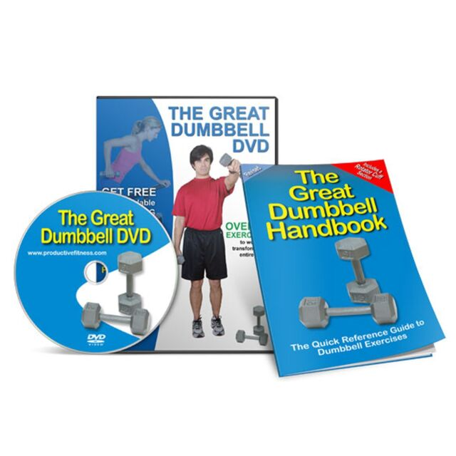 Productive Fitness The Great Dumbbell Exercise Handbook & DVD Set