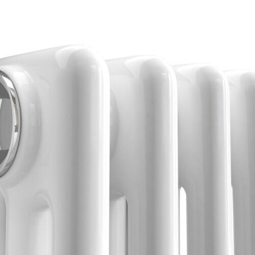 MAINE WHITE 300X1177 HORIZONTAL TRIPLE COLUMN DESIGNER RADIATOR CENTRAL HEATING