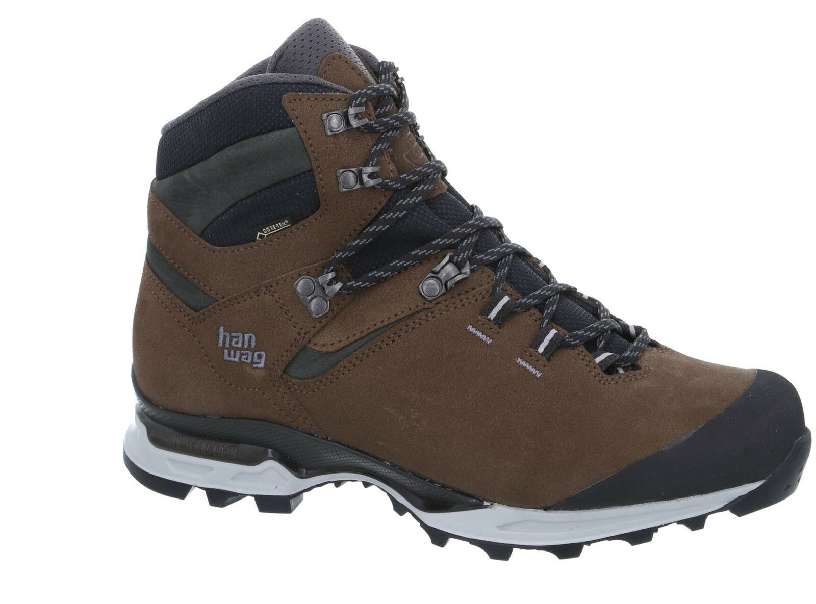 Hanwag Montagna Scarpe Tatra LIGHT GTX dimensione 11 - 46 Brown/ANTHRACITE