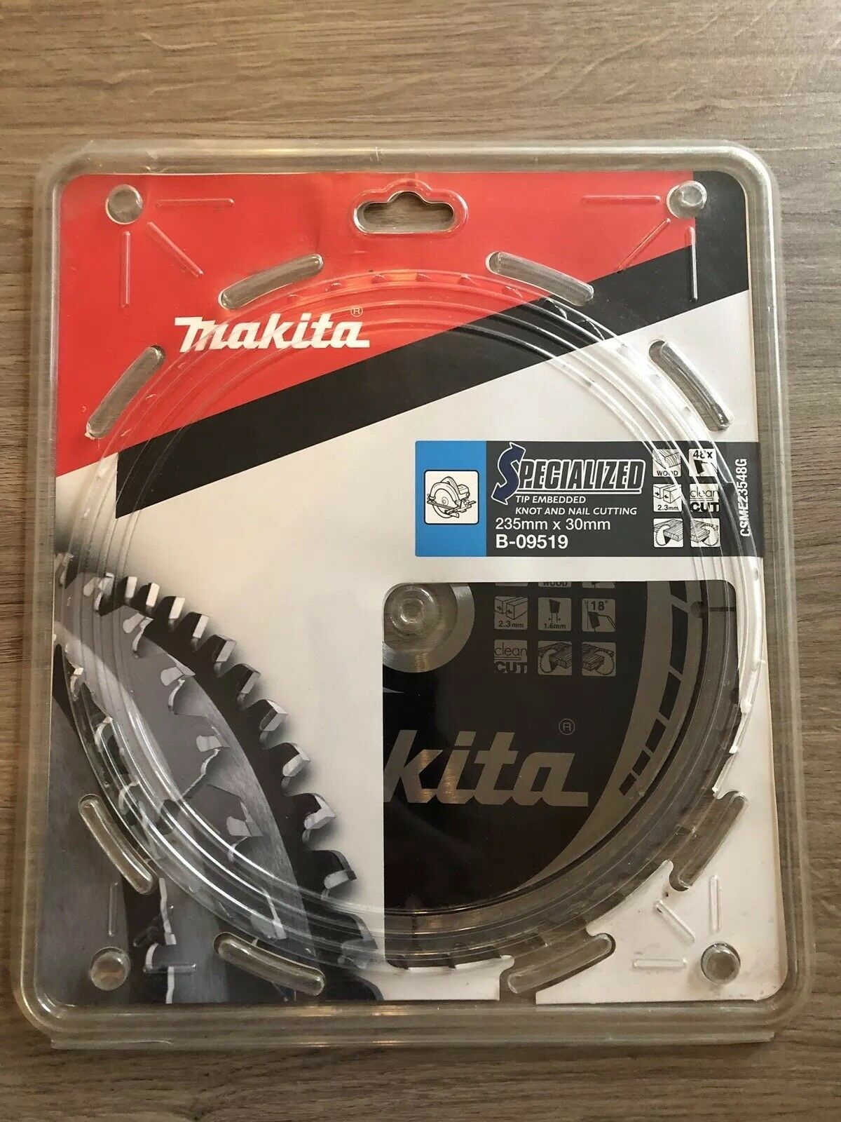 Makita B-09519 SPECIALIZED Tip Embedded Blade 235 x 30 48T