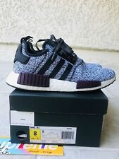 32c28f62a Under Retail adidas NMD R1 Black Wool Tan Khaki Champs Men s Size 9 ...