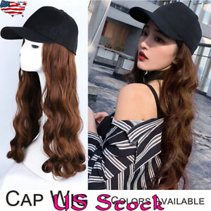 Cap-Wig-Hat-Full-Long-Wavy-Curly-Cosplay-Women-Halloween-Party-Club-Girl-Hair