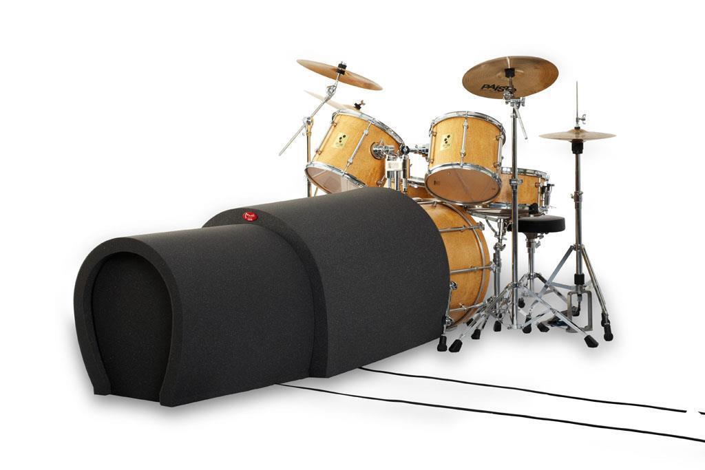 Bass Drum Tube - Aufnahme Schlagzeug Microfon Absorber Schaumstoff Recording