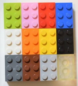 Part 3002 10 Pack of NEW LEGO Bricks 2x3 SELECT COLOUR FREE POSTAGE
