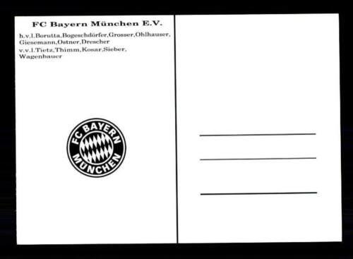 FC Bayern München Mannschaftskarte 1961-62 TOP