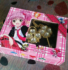 New Cosplay !Shugo Chara ! Hinamori Amu open Key & lock couples Necklace
