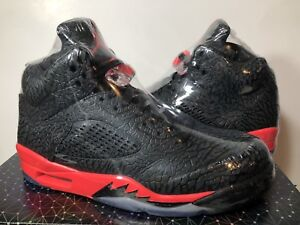 timeless design 508f3 518a1 Image is loading BRAND-NEW-AIR-JORDAN-5-RETRO-034-3LAB5-