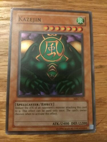 Yugioh: Kazejin Super Rare MP MRD-026 Unlimited