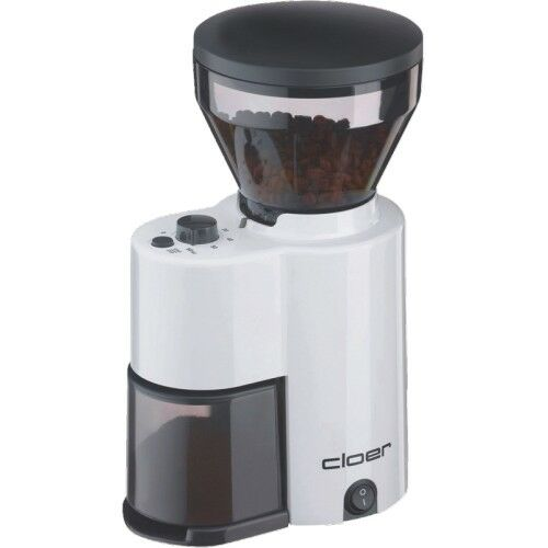 Cloer Caffè Mulino 7521 BIANCO frantoio-sistema REGOLABILE BANCHETTO gradi