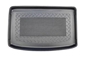 Riffelblech Design Kofferraumwanne für Skoda Kodiaq 2017 Boden tief oder hoch