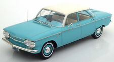 Premium X  1961 Chevrolet Corvair Sedan Turquoise in 1/18 Scale In Stock! New!