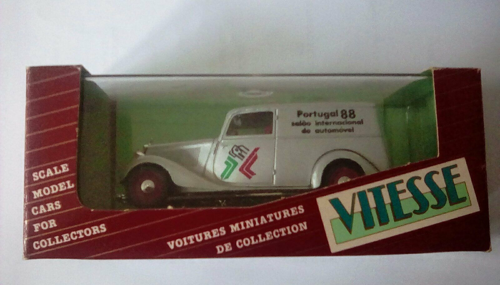 Très rare vitesse Mercedes Benz 170 V van Portugal Expo 1988 1 43 1 500 Mo