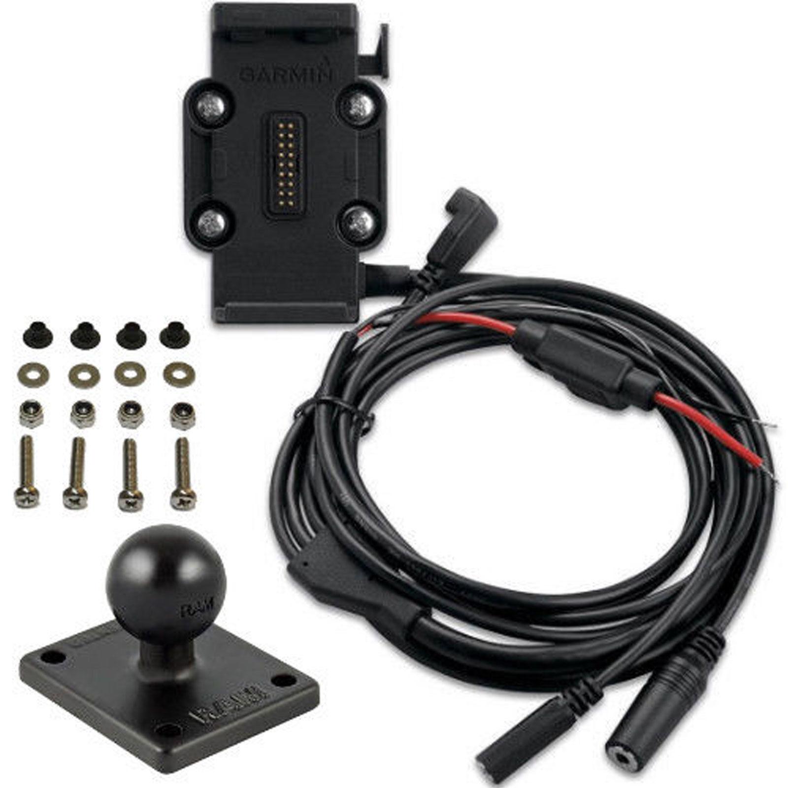 Garmin zumo 665LM Motorcycle Power,Mic & XM Cable Clutch/Handlebar on