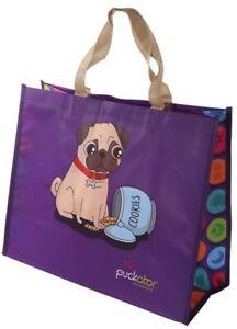 Französiche Bulldogge Einkaufs Beutel Einkaufstasche Hunde Tasche Gobelin