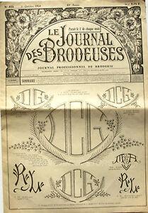 Le Journal Des Brodeuses N°835 - 1964 - Ecussons Pour Bavoir - Nappes - Tqmokwsz-07161744-162680536