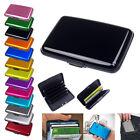 Aluminum Durable Business Id Credit Card Holder Wallet Pocket Case Anti Rfid