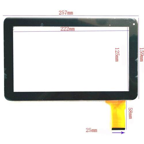"New Touchscreen Panel Digitizer for 10.1/"" PolaTab Q10.2"