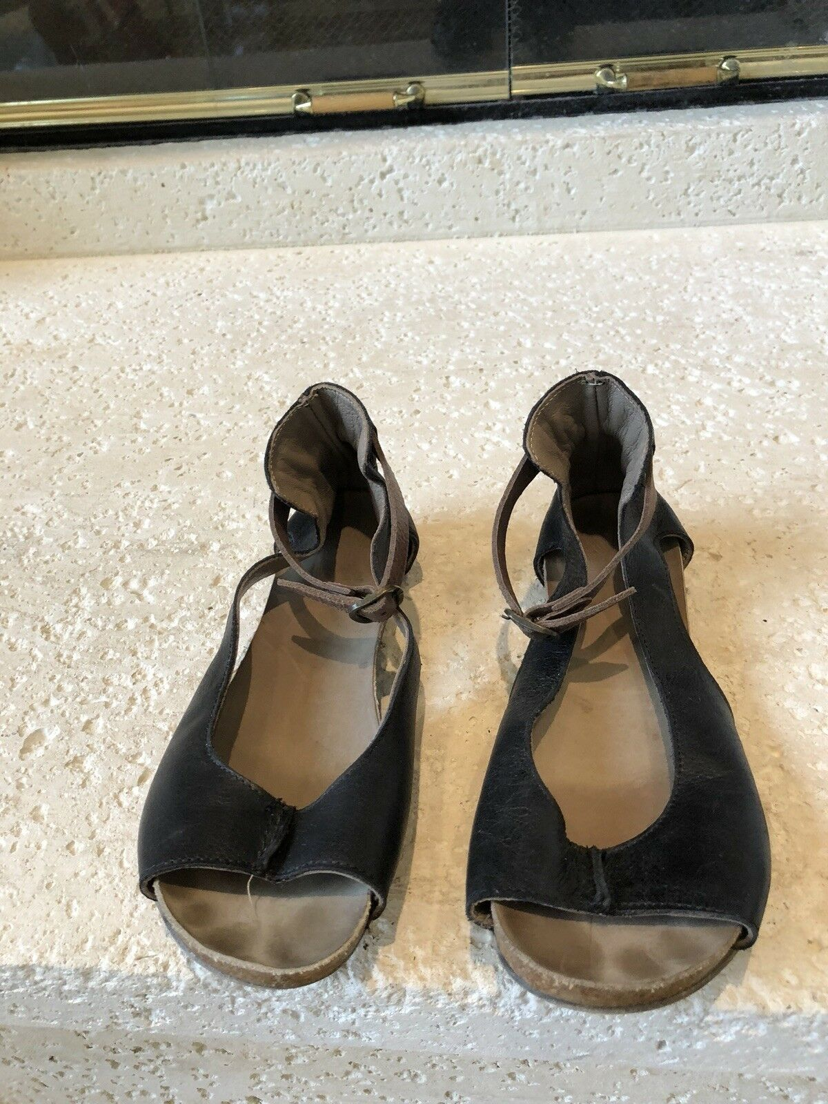 Lili Mill Made In  Sandals Size 38 US 7.5