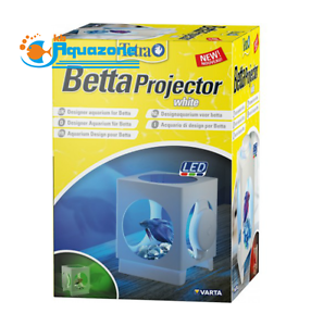 Objective Aquarium Tetra Betta Projector White Led *1.8l* To Make One Feel At Ease And Energetic Fish & Aquariums